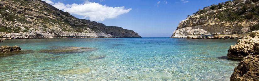 Пляжи на Родосе