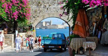 Поездка на Родос и греческие острова из Турции